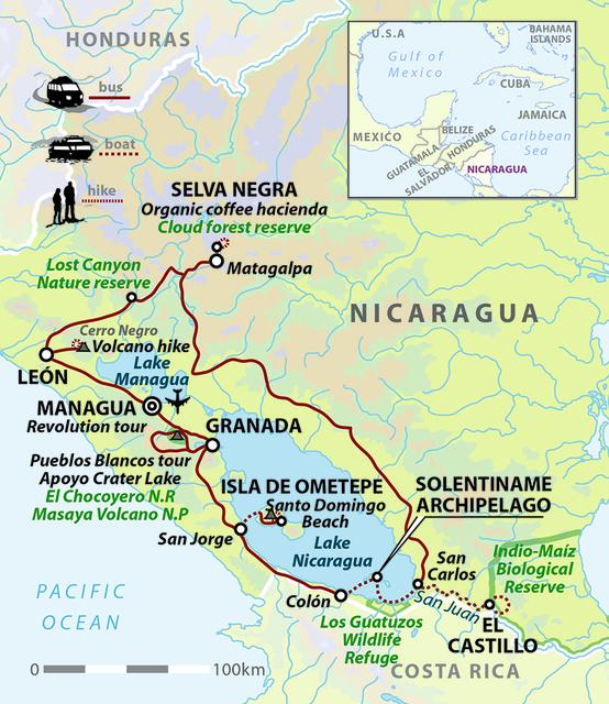 Nicaragua Explorer