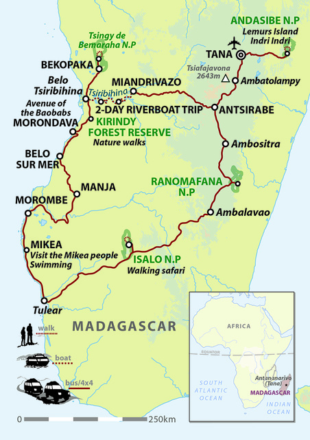 Madagascar Encompassed