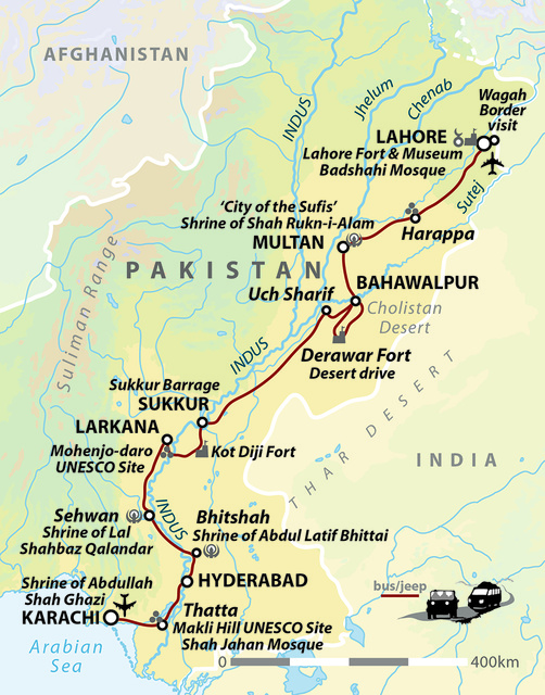 Southern Pakistan: Journey Through The Indus Valley