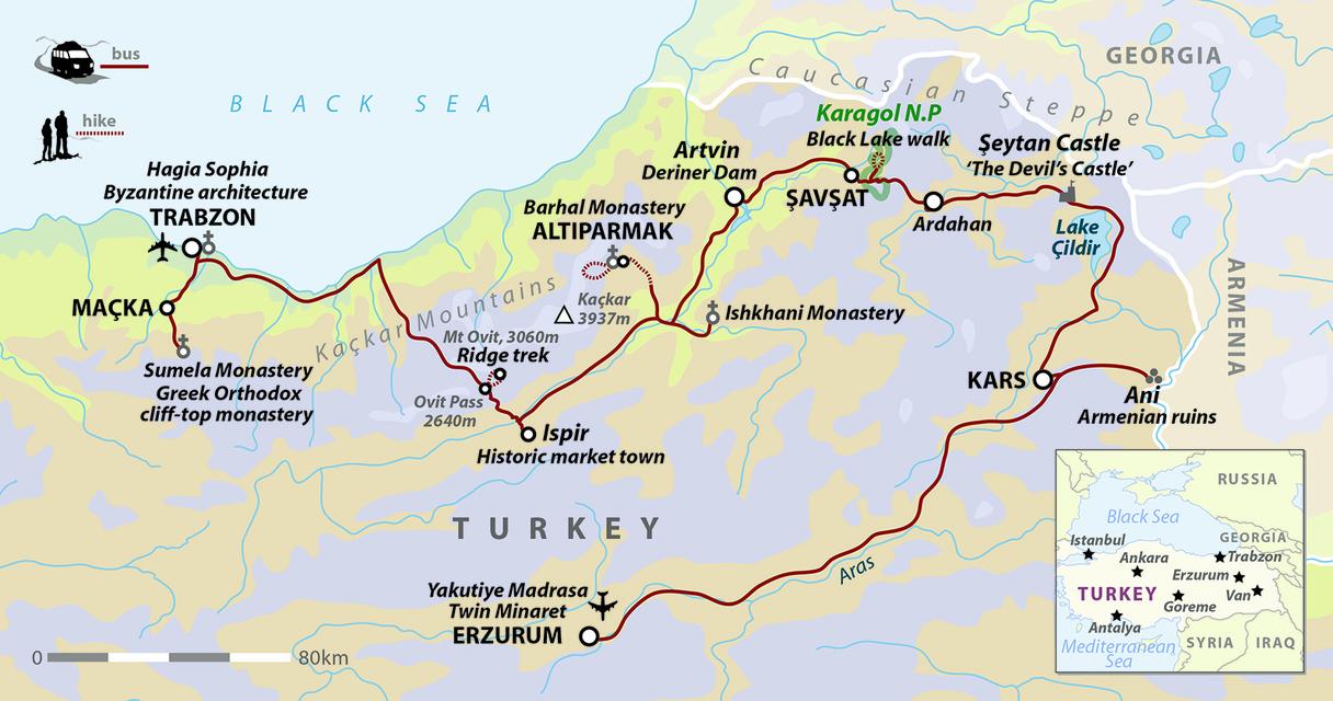 North-East Turkey: Walking In the Kaçkar Mountains