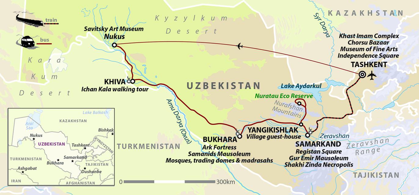 Uzbekistan: Land of Silk Road Treasures