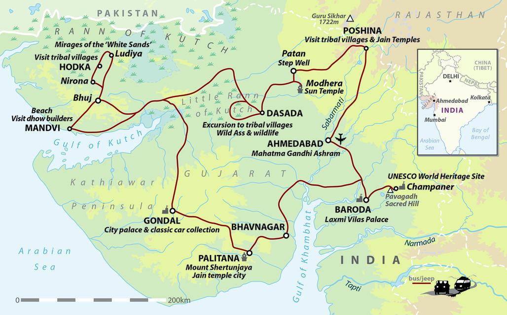 India: Gujarat & Rann of Kutch