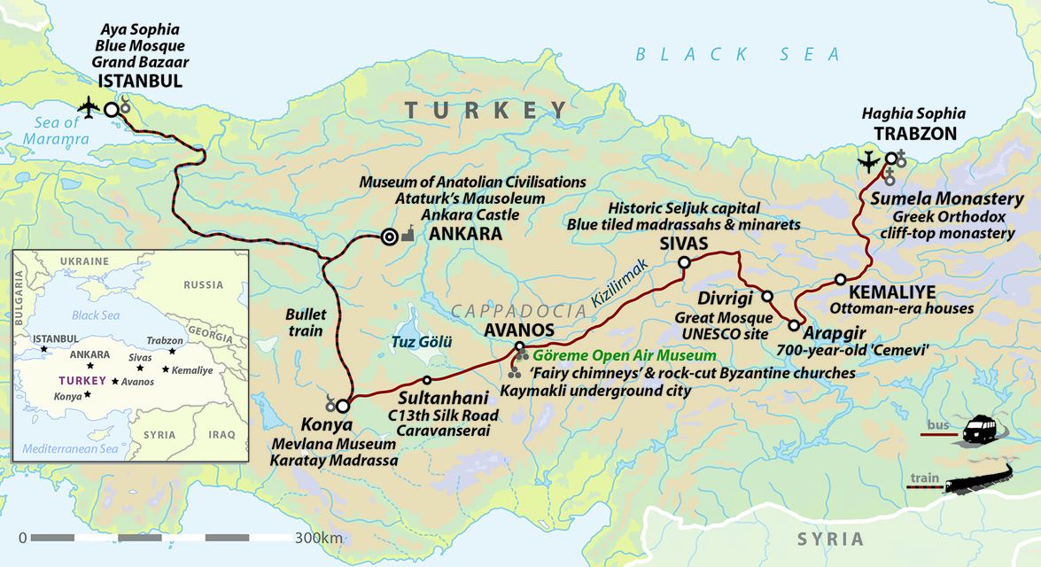 Turkey: From The Black Sea to The Golden Horn