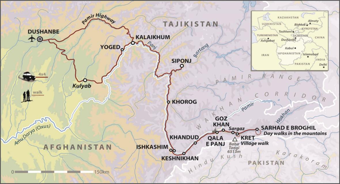 Afghanistan & Tajikistan: Wakhan Pamir Adventure