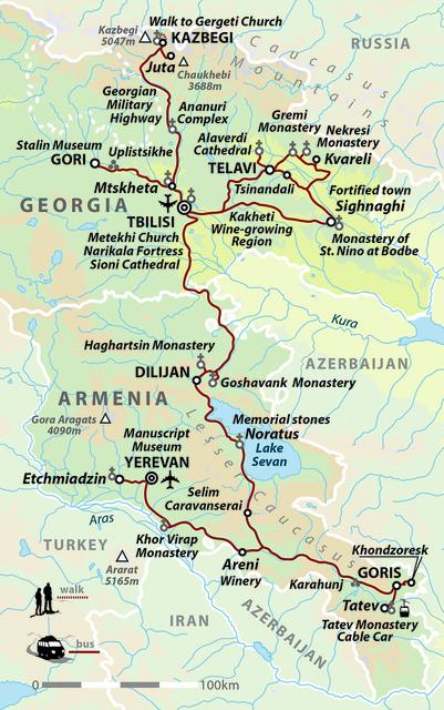 Georgia & Armenia: Caucasus Explorer