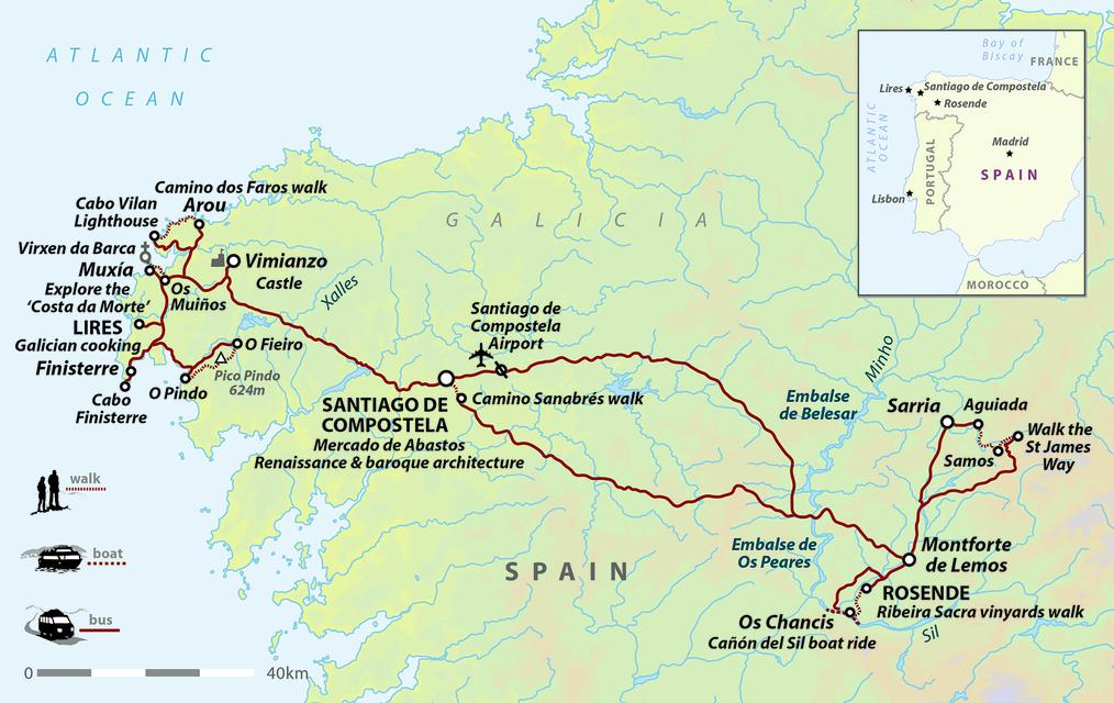 Galicia: Camino, Compostela and Costa da Morte