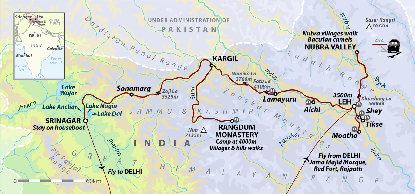 India: High Road to Kashmir