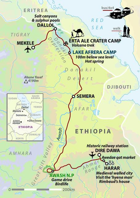 Ethiopia: Harar and the Danakil Depression