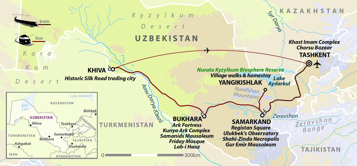 Wanderlust Journeys: Discover Uzbekistan with Lyn Hughes