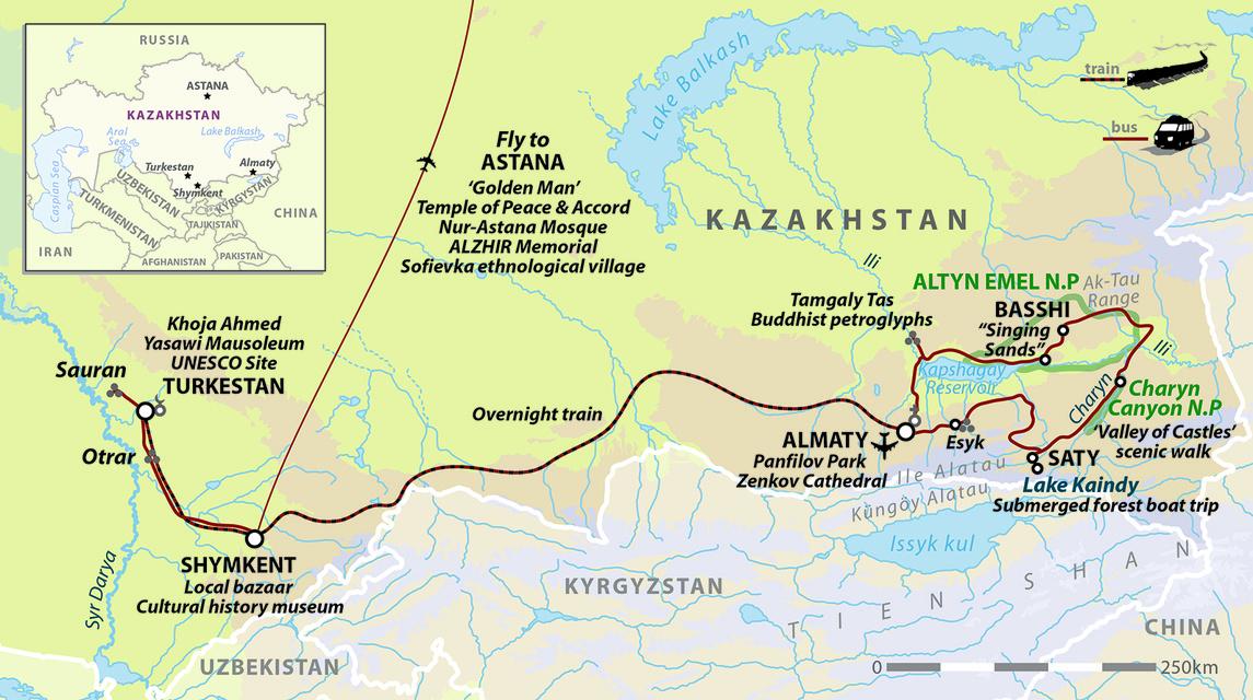 Silk Road - Kazakhstan: Across The Kazakh Steppe