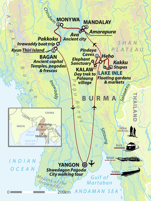Myanmar (Burma): The Road To Mandalay