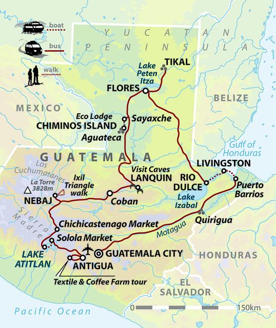 Guatemala: Tikal & Beyond