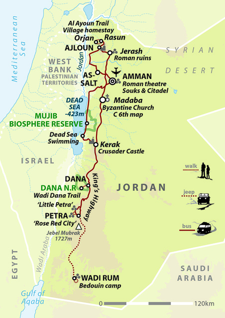 Jordan: Lost City Of Arabia