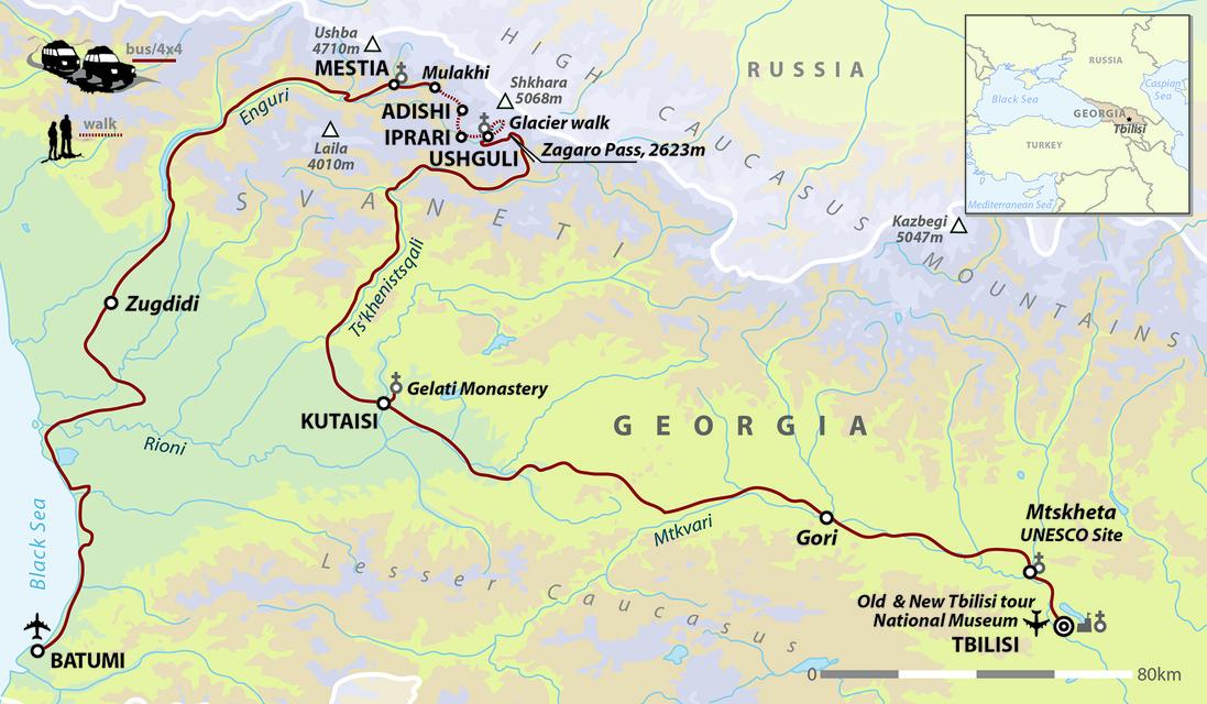Georgia: Walking In The Svaneti Mountains