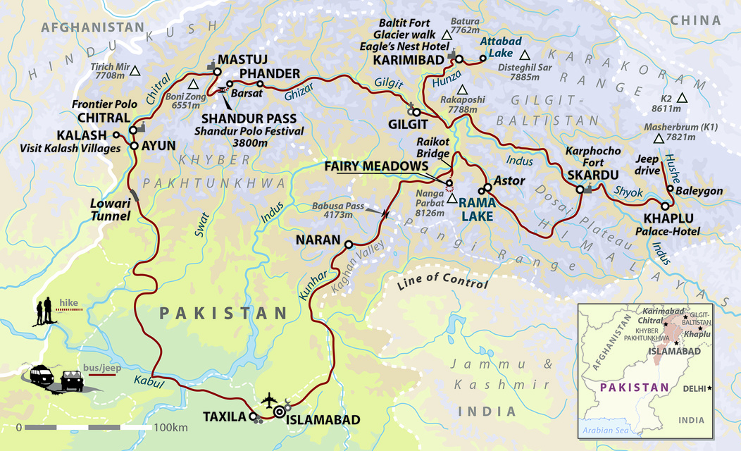 Pakistan: Summer Mountain Explorer