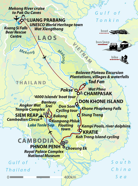 Heart of Indochina: Laos and Cambodia