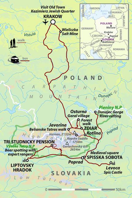 Poland & Slovakia: Krakow, Tatras & Bears