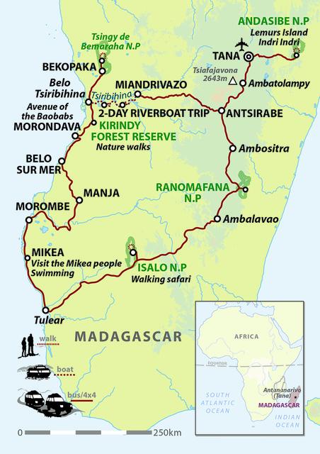 Madagascar Encompassed