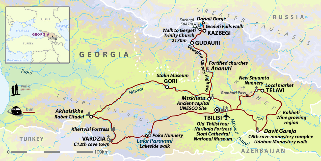 Georgia: Land of Myths and Mountains