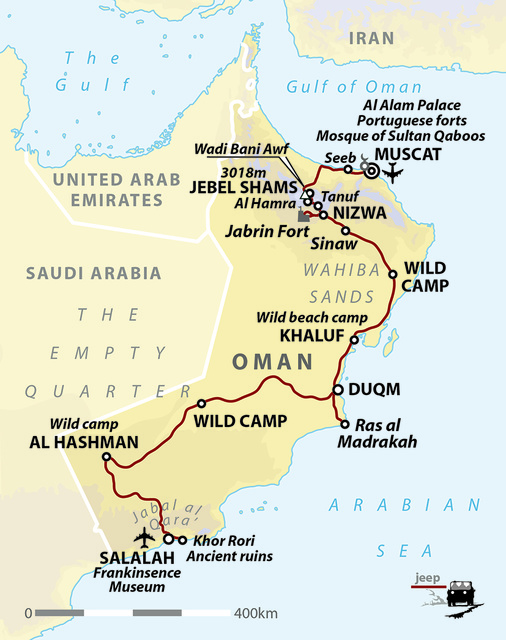 Oman Desert Adventure: Wahiba Sands & Empty Quarter