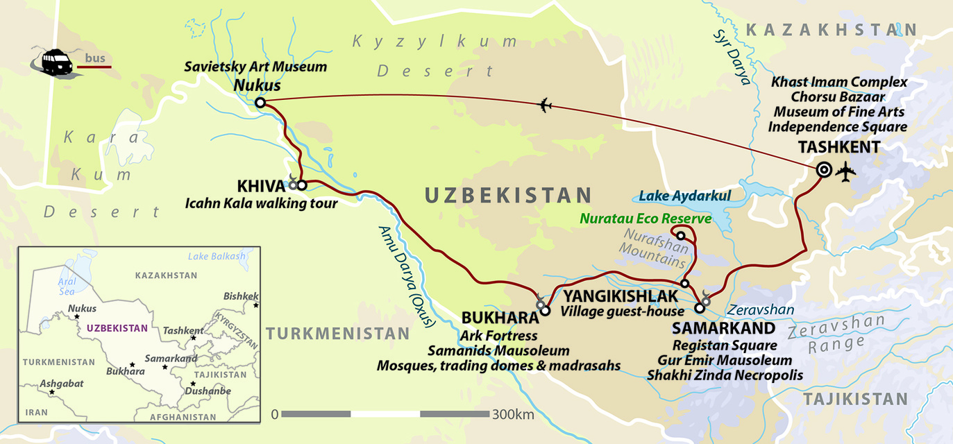 Uzbekistan: Land of Silk Road Treasures