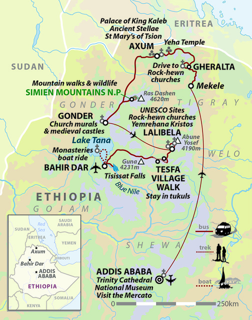 Ethiopia: Northern Explorer