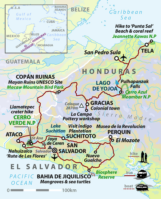 El Salvador & Honduras: Secrets of Central America