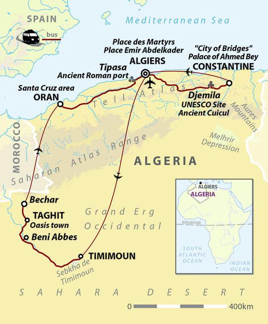 Algerian Colours