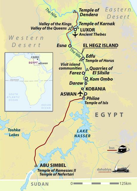 Egypt: Slow Boat to Aswan