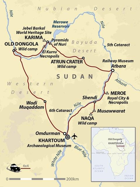 Beneath the Sands of Sudan