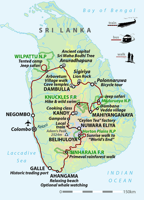 Sri Lanka: Highlights of the Sacred Island