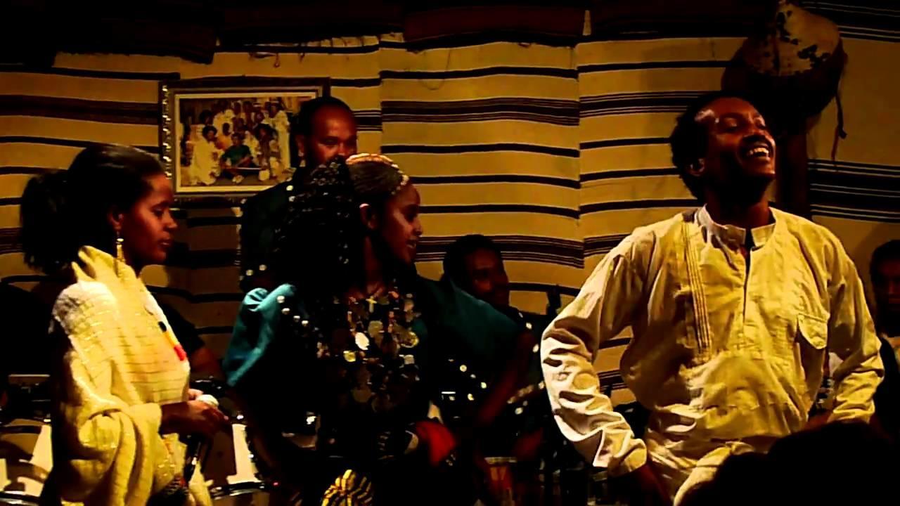 Ethiopian shoulder dancing