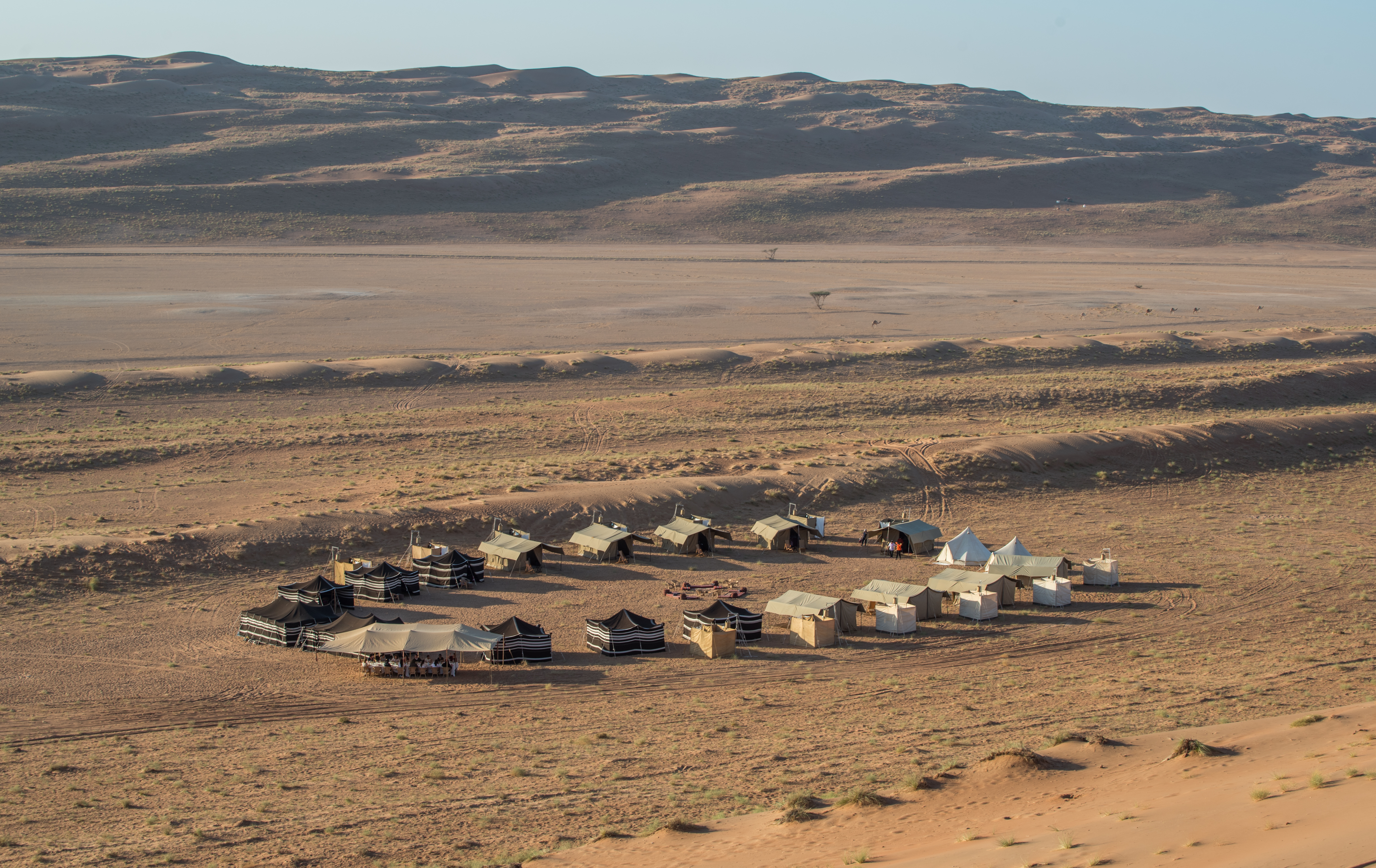 Hud Hud Shared Camp - Wahiba Sands